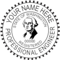 Washington PE Seal