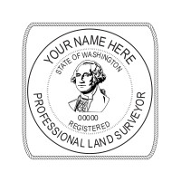 Washington Professional Surveyor Seal