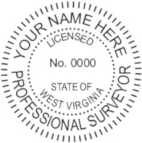 West Virginia Professional Surveyor Seal