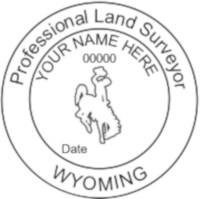 Wyoming Professional Surveyor Seal