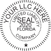 Digital LLC seals comply with standards set forth in Adobe, DocuSign document management software. Generate an image online for instant download.