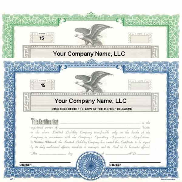 Regulate company members. Get custom LLC Certificates online. We print and ship. Make good record-keeping simple. Manufactured by Duke.